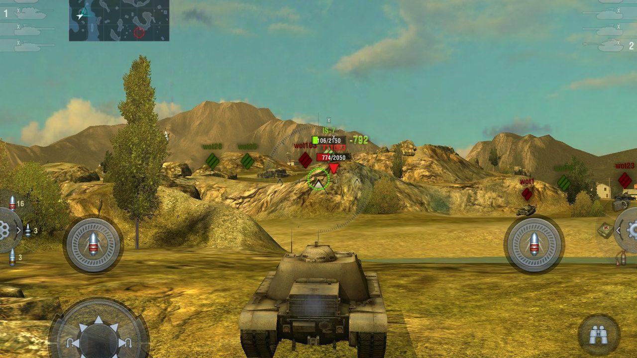 hands on World of Tanks Blitz