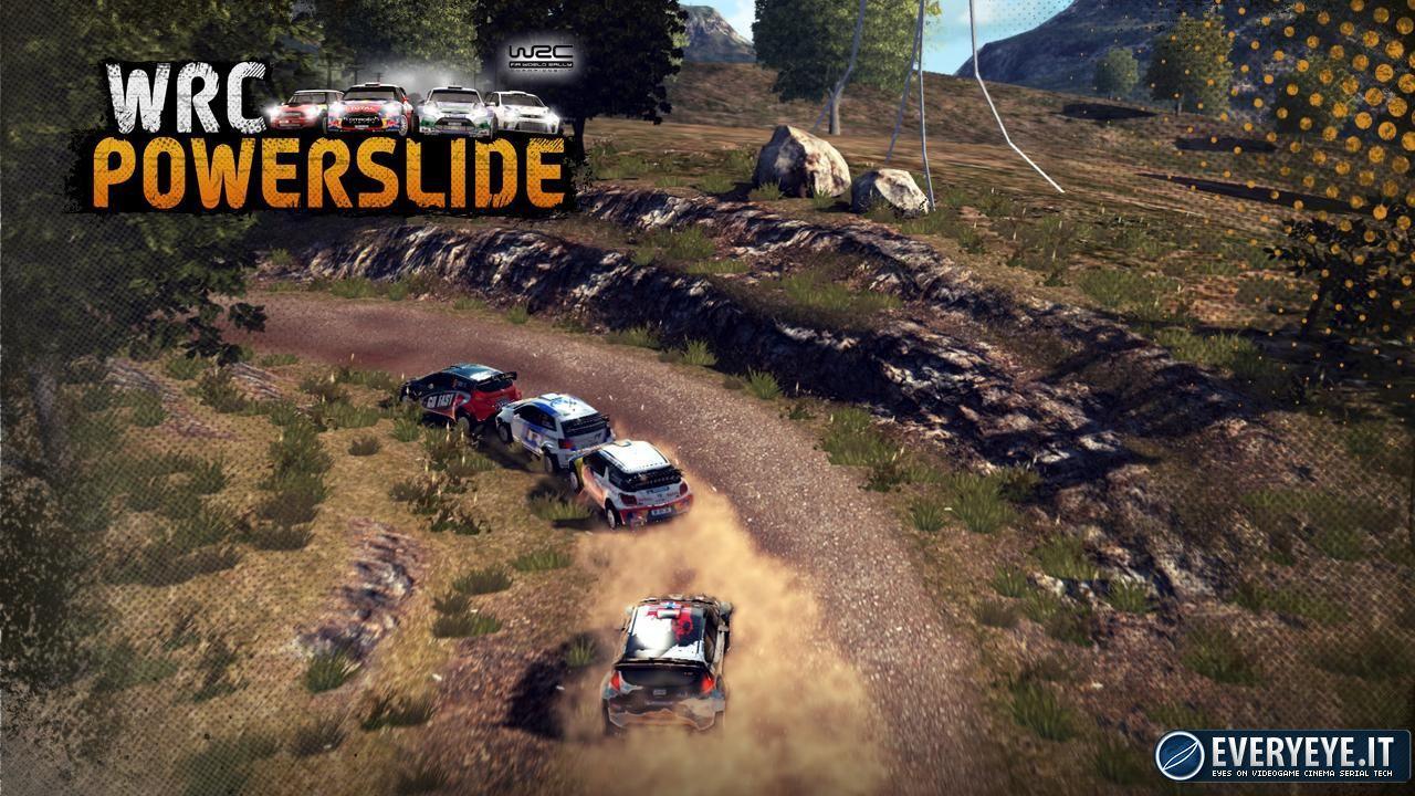 recensione WRC Powerslide