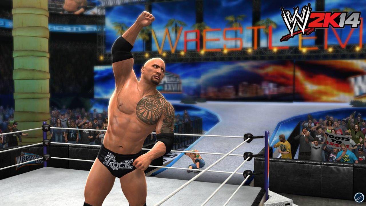 hands on WWE 2K14