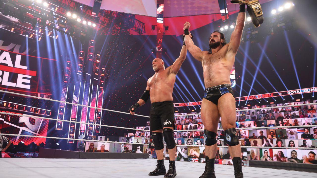 intervista WWE: intervista a Edge e Bianca Belair, vincitori della Royal Rumble