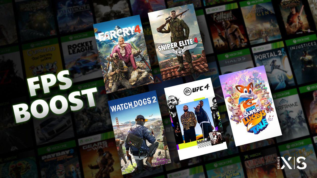 speciale Xbox Series X/S: cos'è FPS Boost e come funziona