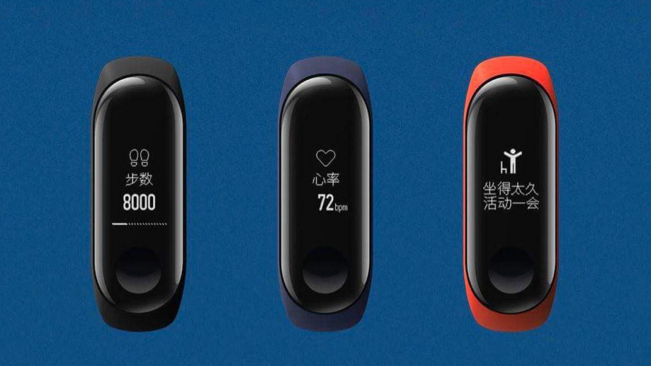 speciale Xiaomi Mi Band 3 Ufficiale: nuovo display OLED Touch e 20 giorni di autonomia