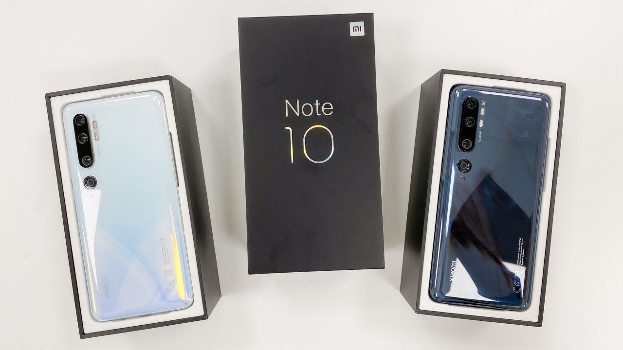 provato Xiaomi lancia Mi Note 10 e Redmi Note 8T: hands-on a Madrid