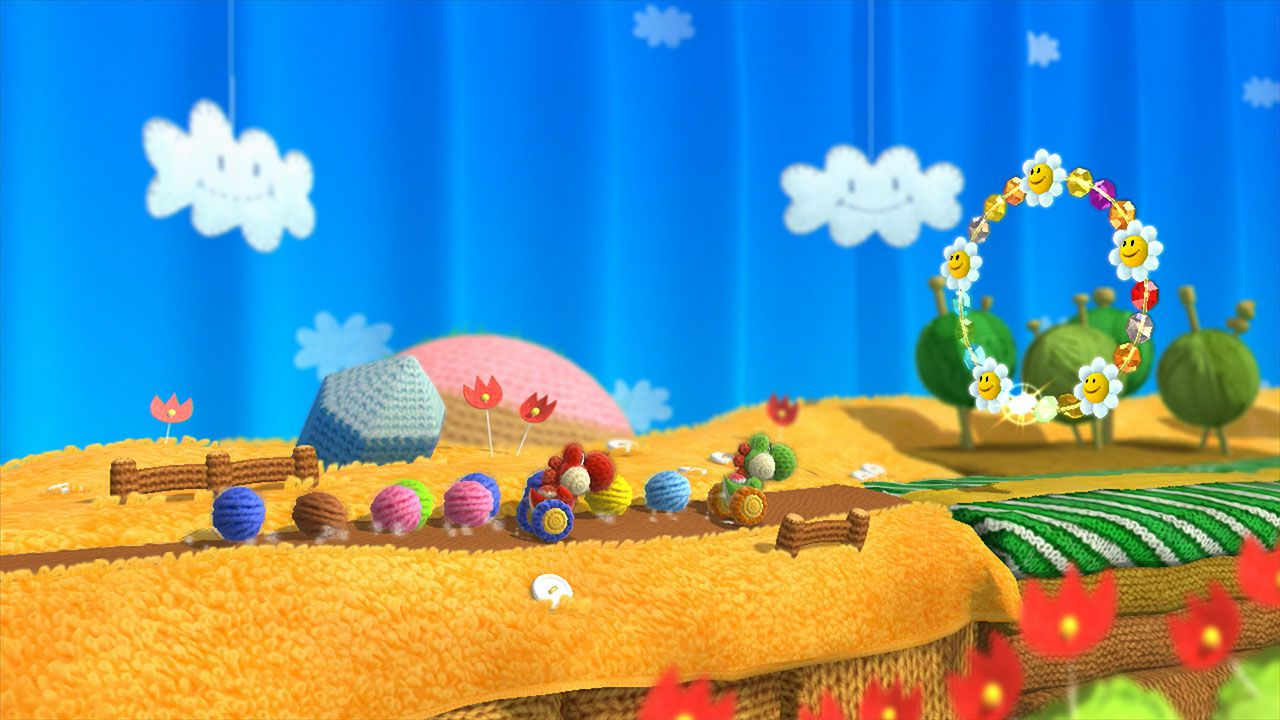 hands on Yoshi's Woolly World