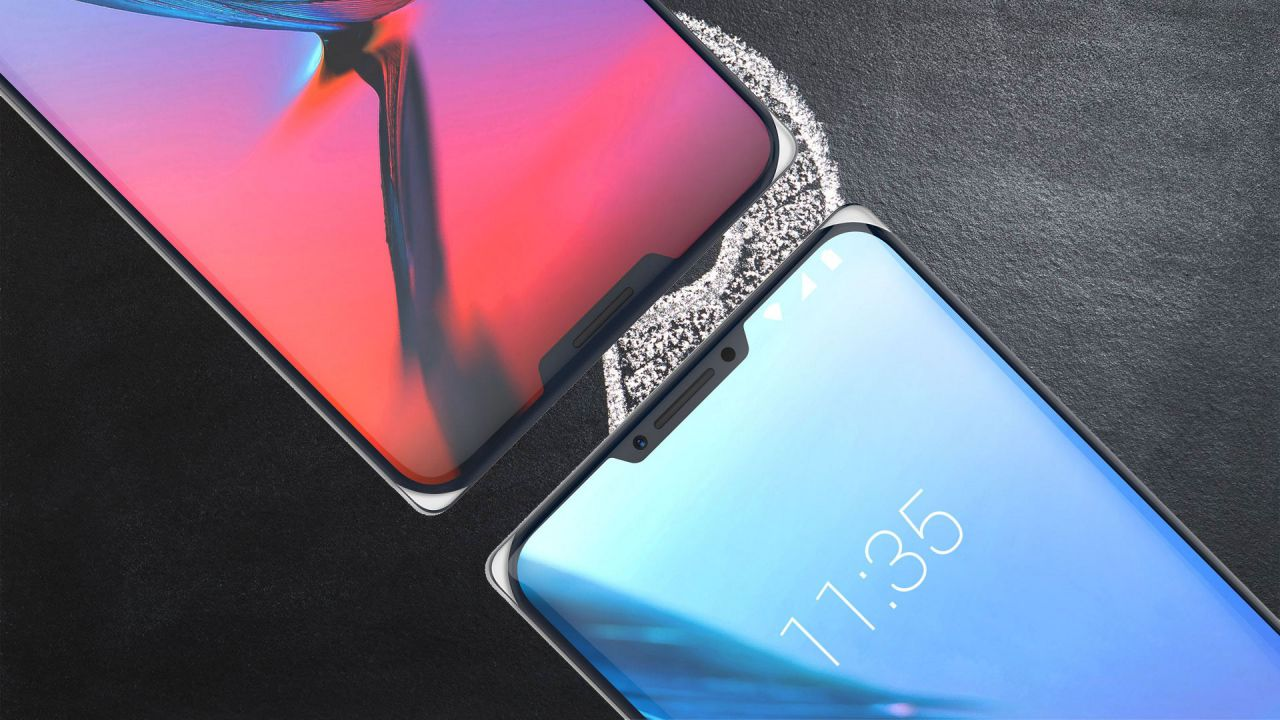 speciale ZTE Iceberg è il primo smartphone con doppio notch, arriverà nel 2019