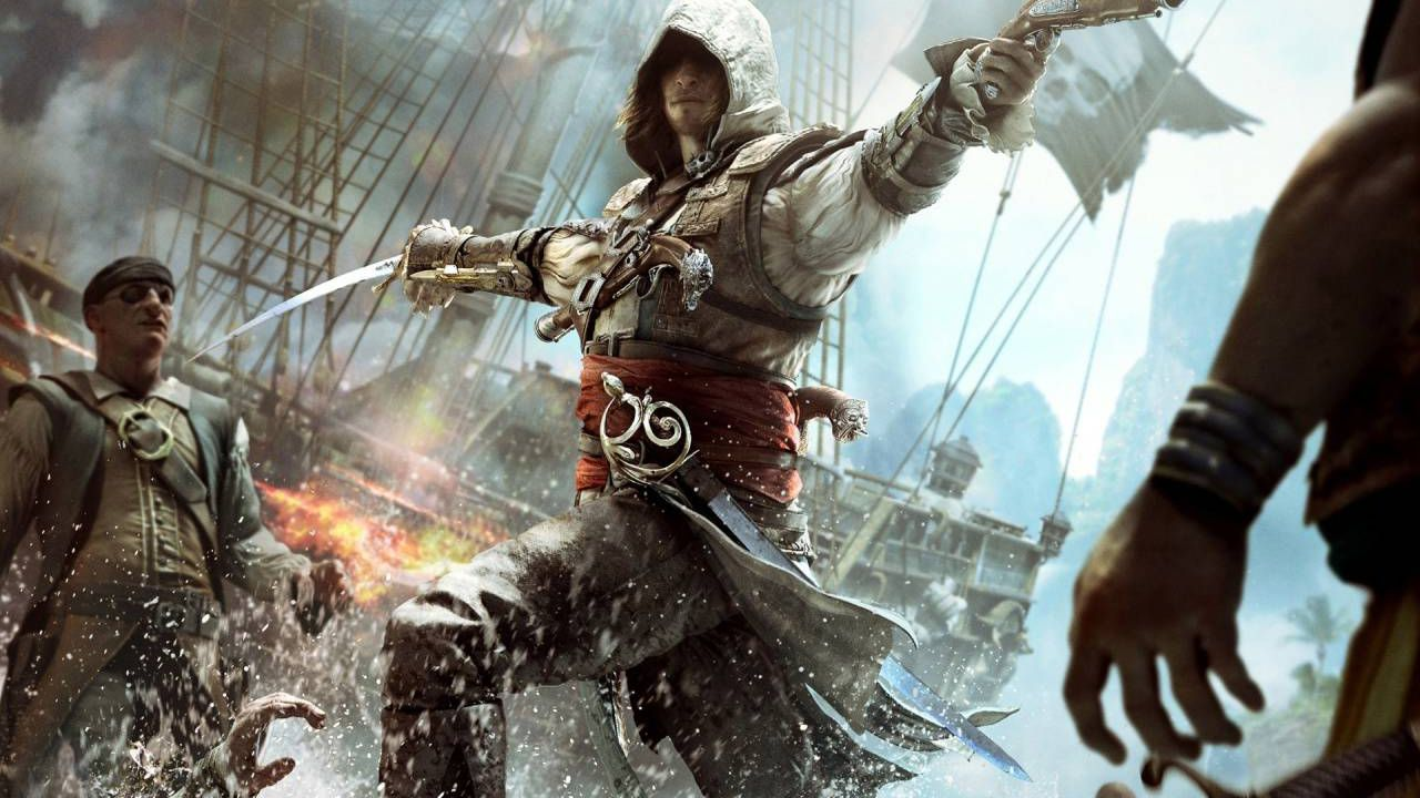 Assassin's Creed 4: Black Flag su PlayStation 4 sfrutterà al massimo il DualShock 4
