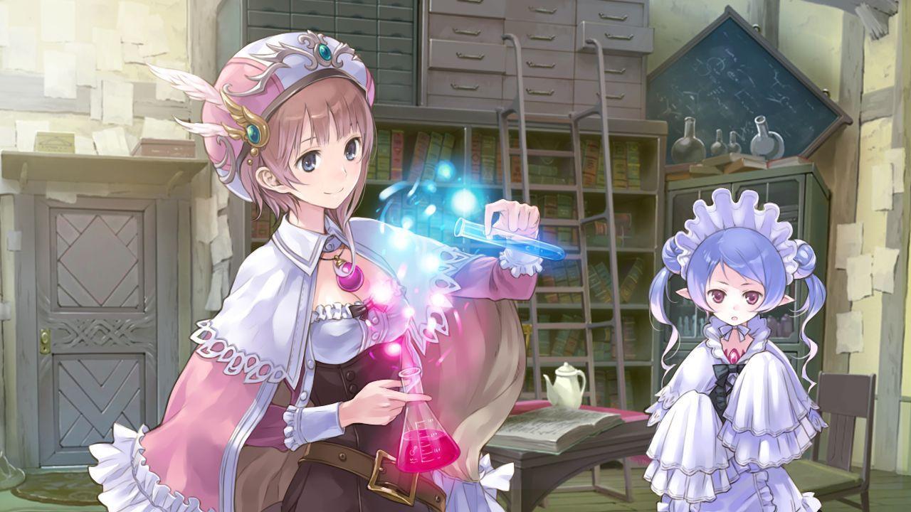 Gust annuncia in Giappone un nuovo RPG della serie Atelier