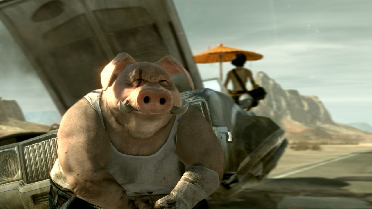 Beyond Good and Evil 2 si mostra in uno screenshot
