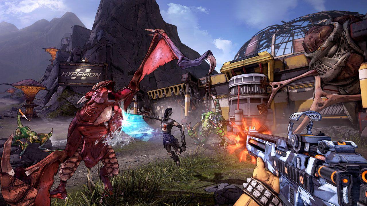 Borderlands Online annunciato per PC e mobile: lancio solo in Cina