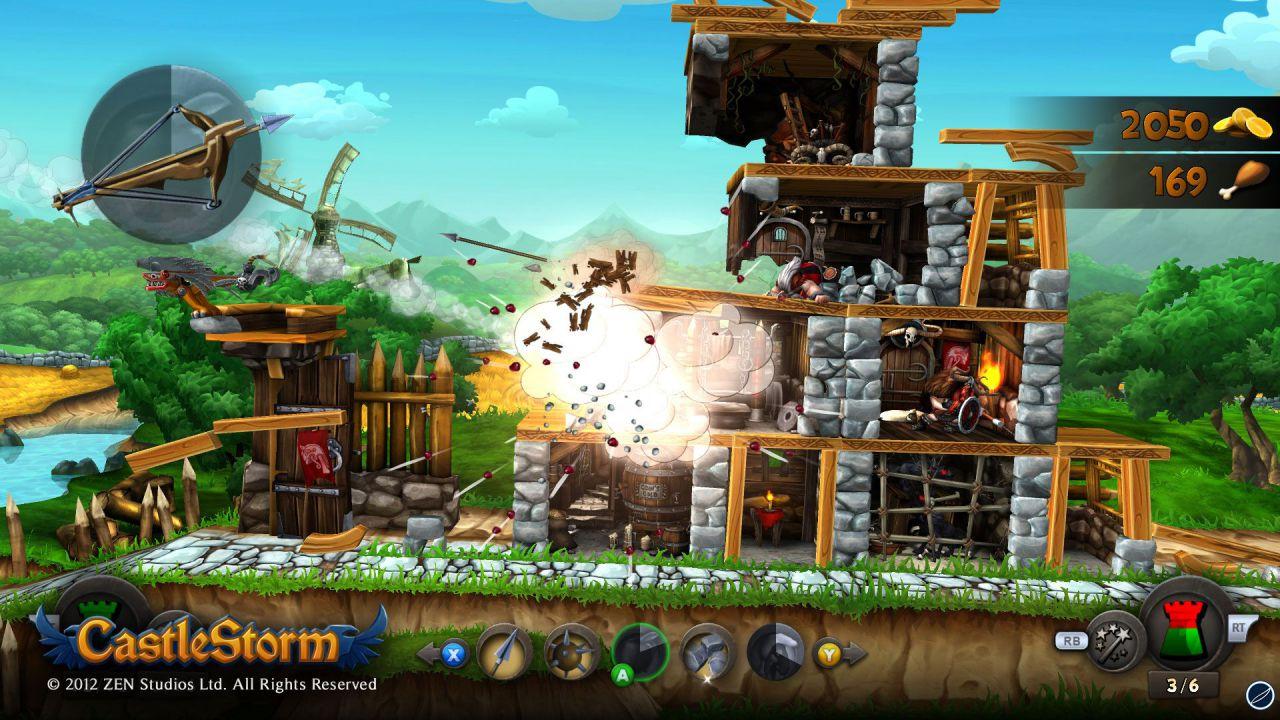 CastleStorm: trailer e dettagli per la modalità multiplayer