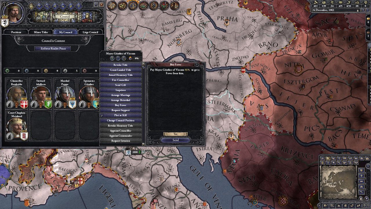 Crusader Kings II: il DLC Legacy of Rome disponibile in Europa