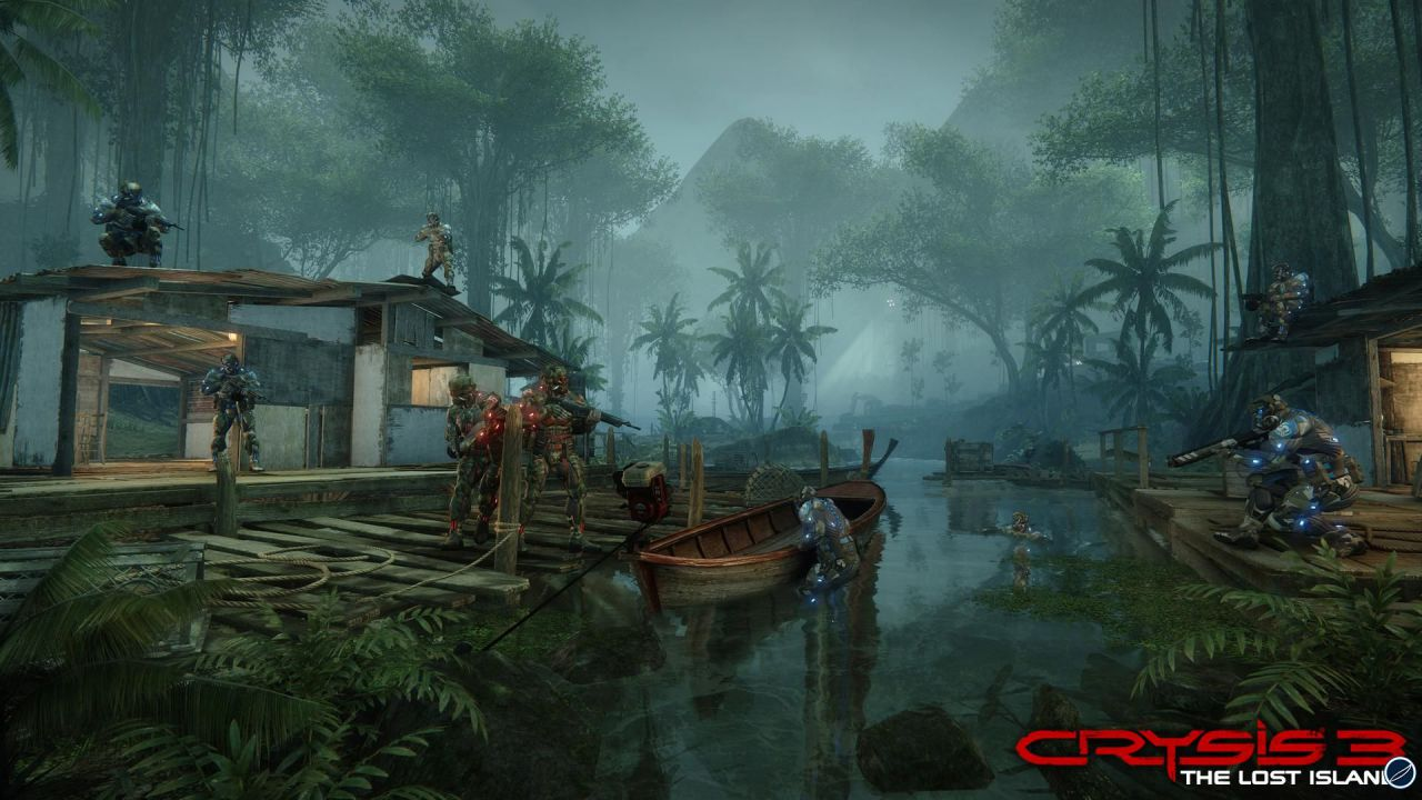 Crysis 3: la Hunter mode fa capolino alla gamescom 2012