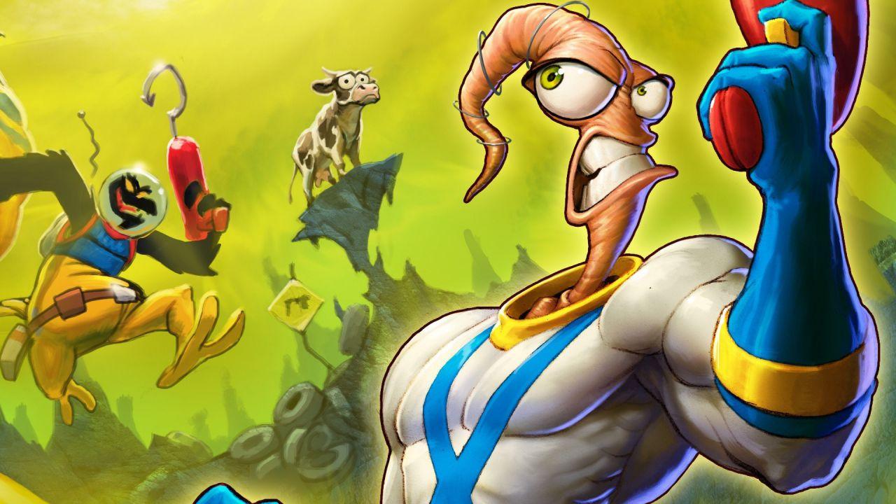 Un giorno verrà realizzato un nuovo gioco su Earthworm Jim