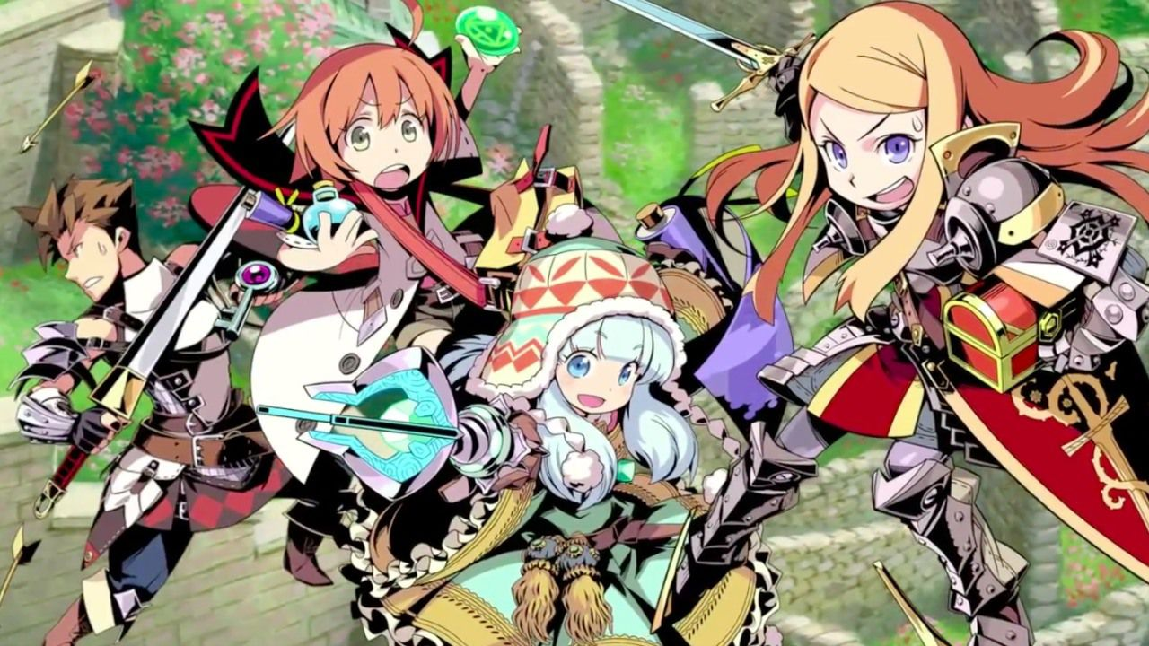 Etrian Odyssey and the Mystery Dungeon: Due nuovi video di gameplay