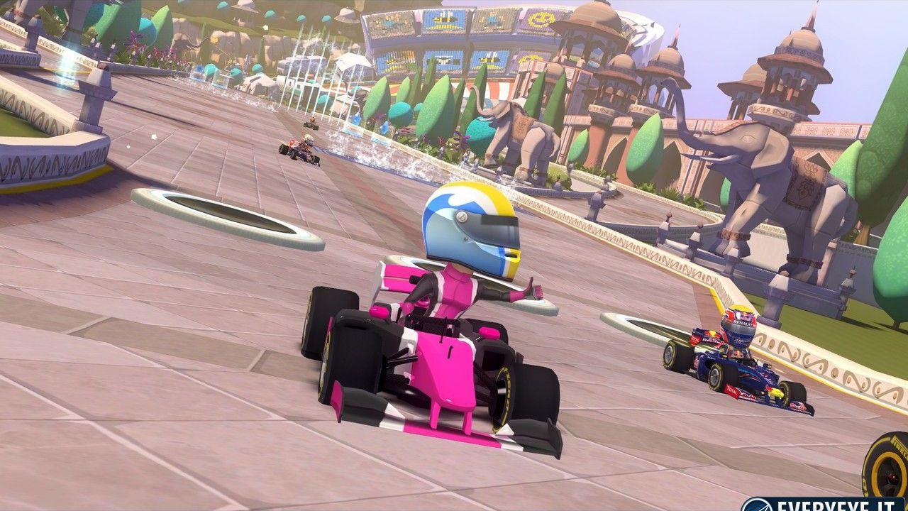 F1 Race Stars: due video sui power-up e i KERS