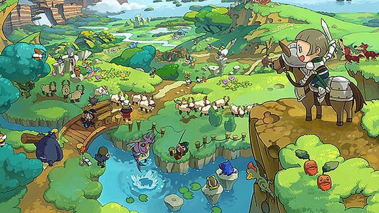 Un filmato off-screen per Fantasy Life