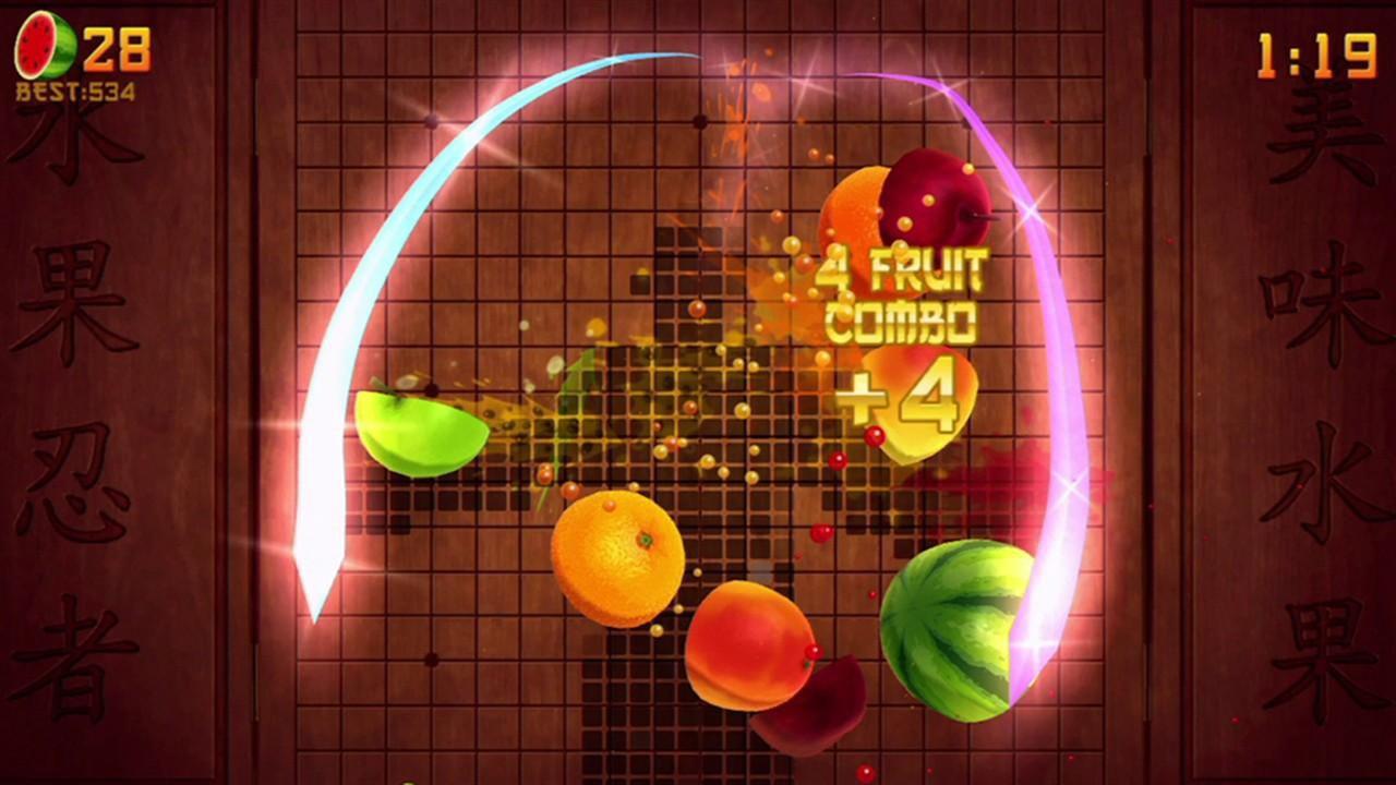 Fruit Ninja Kinect 2 per Xbox One: trapelato un video gameplay