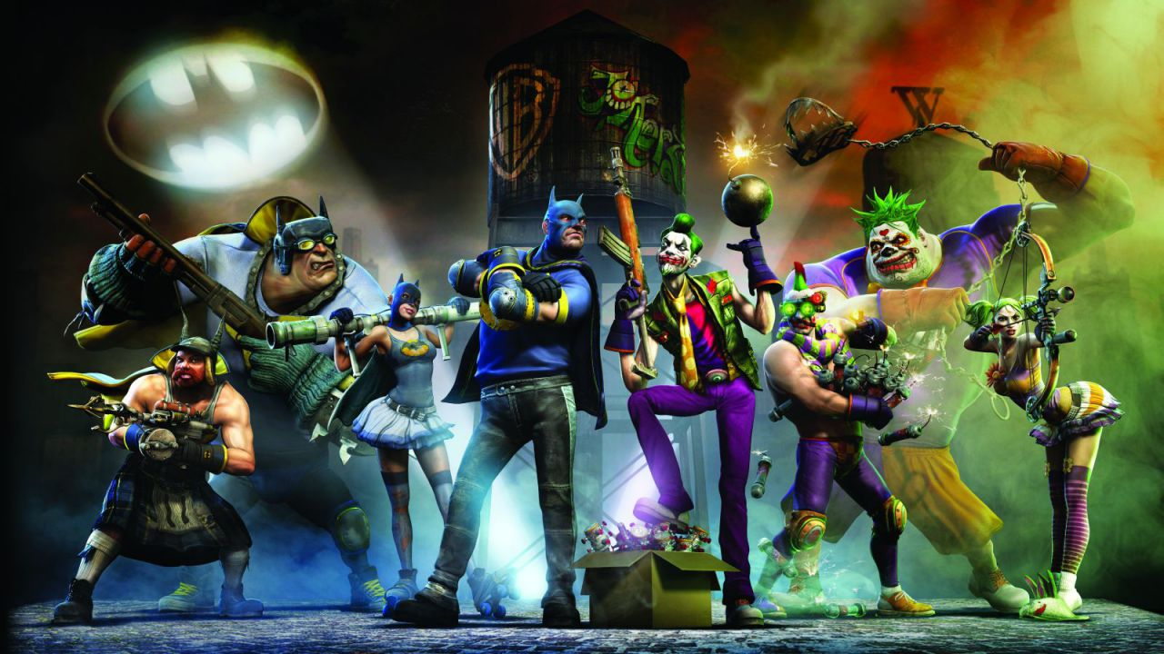 Gotham City Impostors: trailer in CG