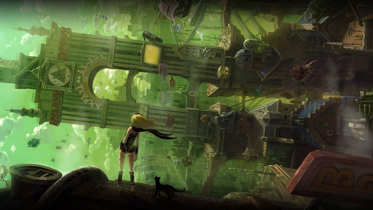 Gravity Rush: nuove immagini per l'action/adventure per PS Vita