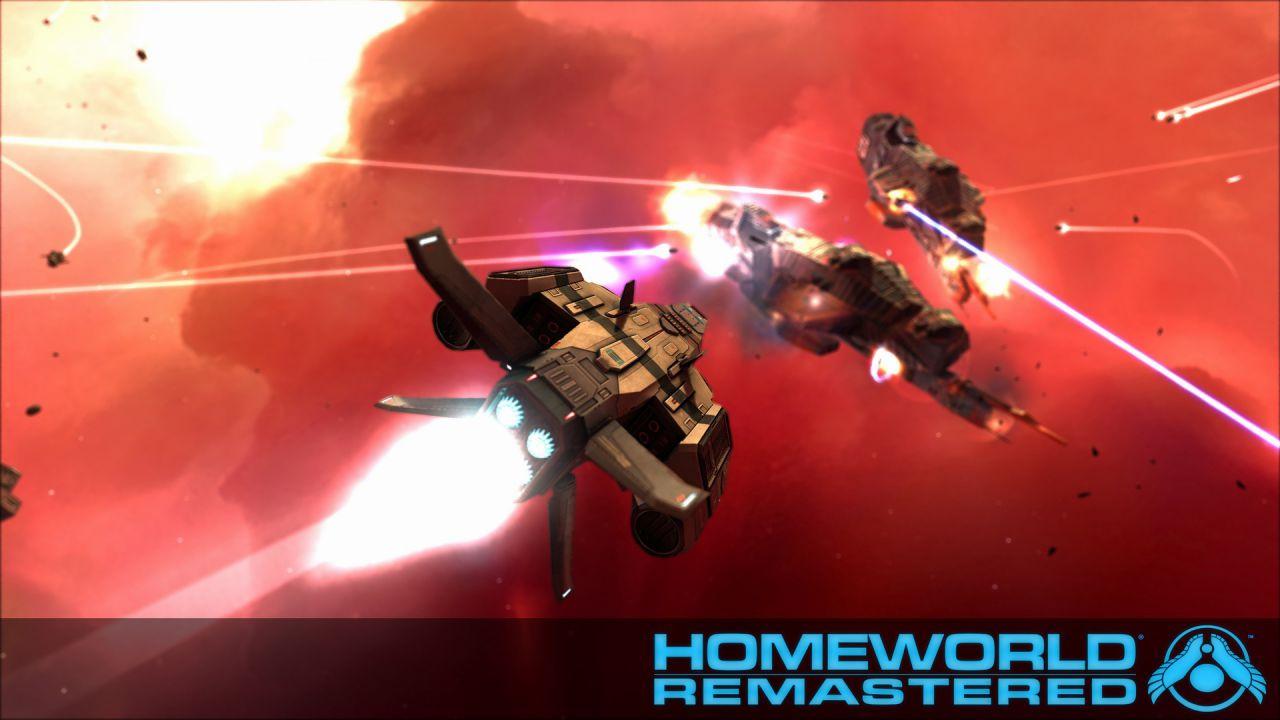 Homeworld e Homeworld 2: remake HD in arrivo