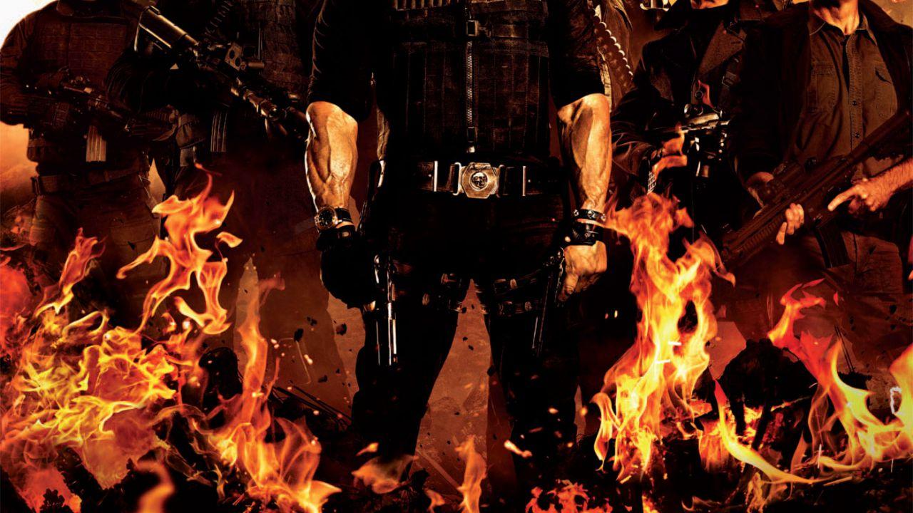 I Mercenari 2, tutti i 12 character poster