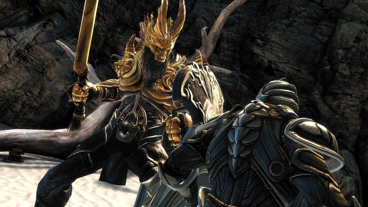 Infinity Blade Saga: primo video gameplay off-screen