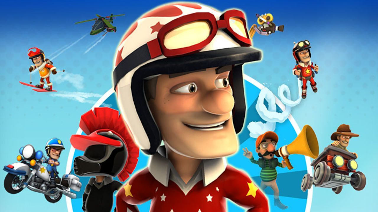 Il trailer di lancio di  Joe Danger Touch