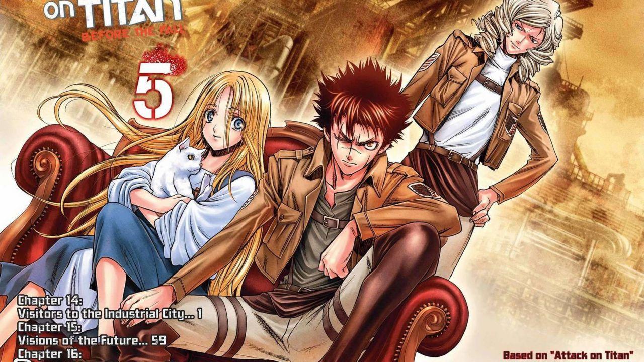 Attack on Titan: Before the Fall, serie manga spin-off da Satoshi Shiki