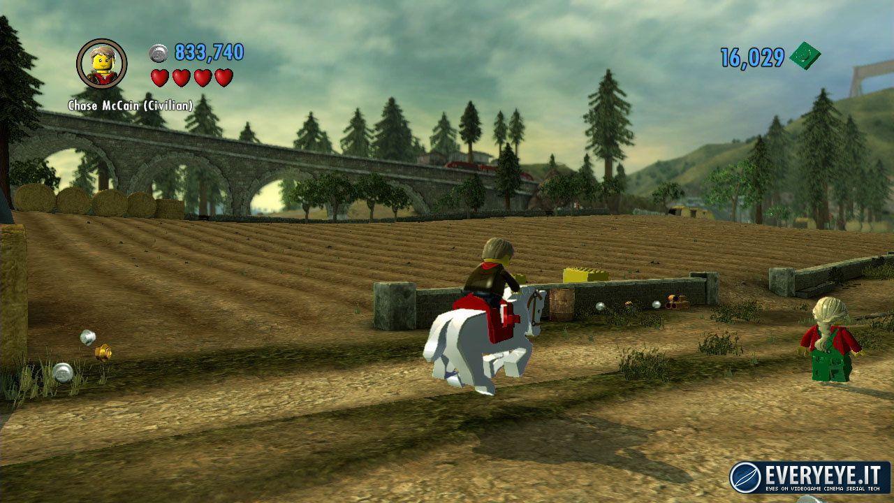 Annunciato Lego City Undercover per Wii U