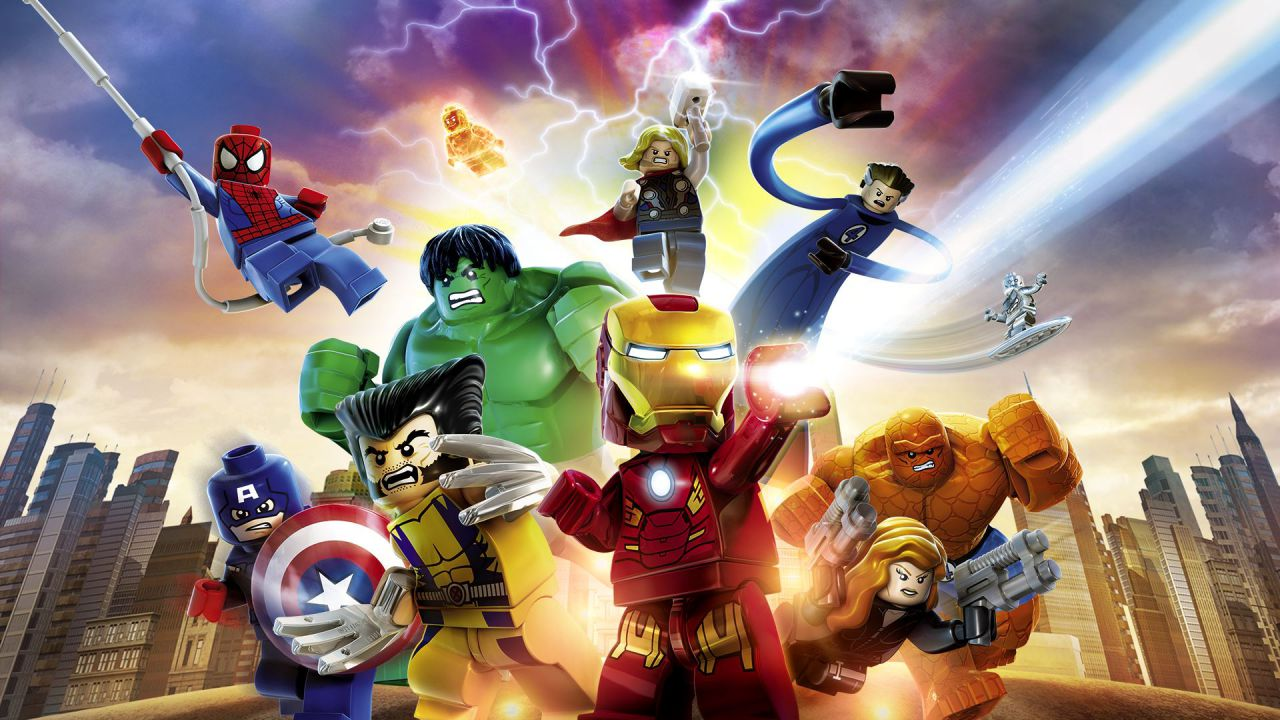 LEGO Marvel Super Heroes: video gameplay nella Stark Tower