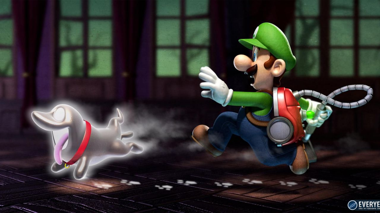 Luigi's Mansion Dark Moon: video gameplay dalla demo E3 2012