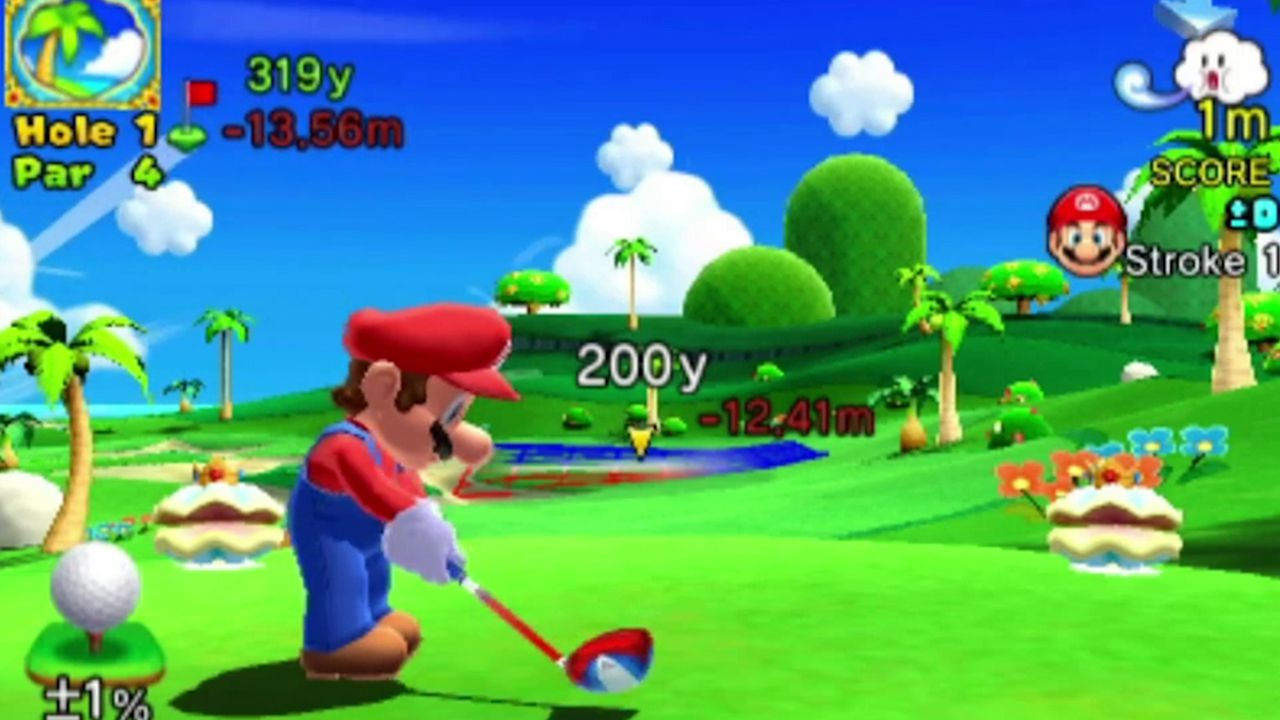 Mario Golf World Tour: uno stage dedicato a Yarn Yoshi?