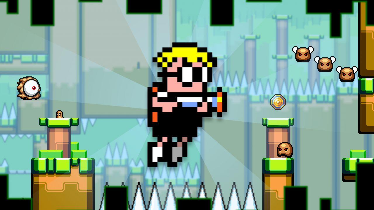 Mutant Mudds Deluxe è stato inviato a Nintendo
