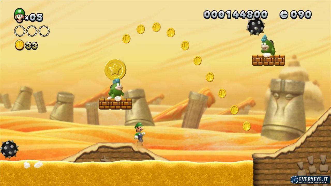 New Super Mario Bros. U: video gameplay