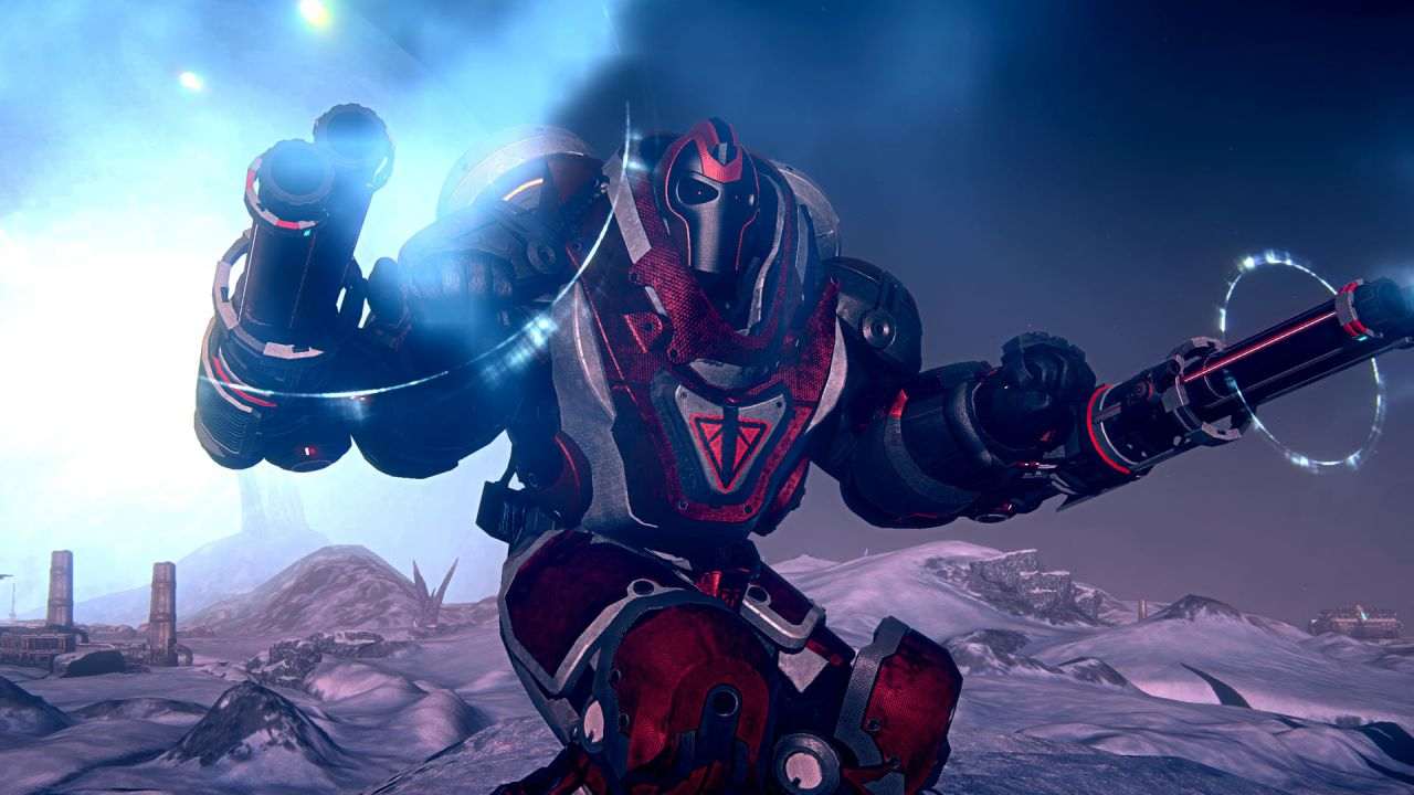 PlanetSide 2: un nuovo video mostra l'outfit degli Azure Twilight e la Vanu Sovereignty