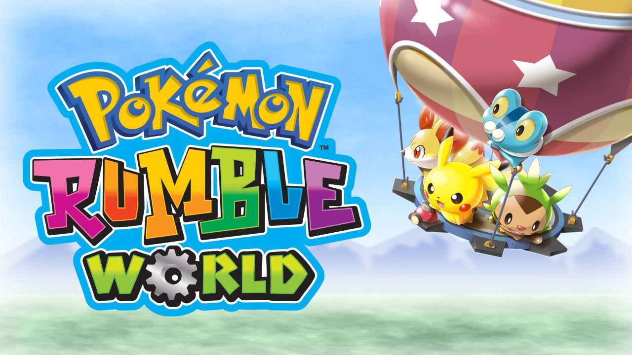 Oltre 700 mostriciattoli da affrontare in Pokemon Rumble World