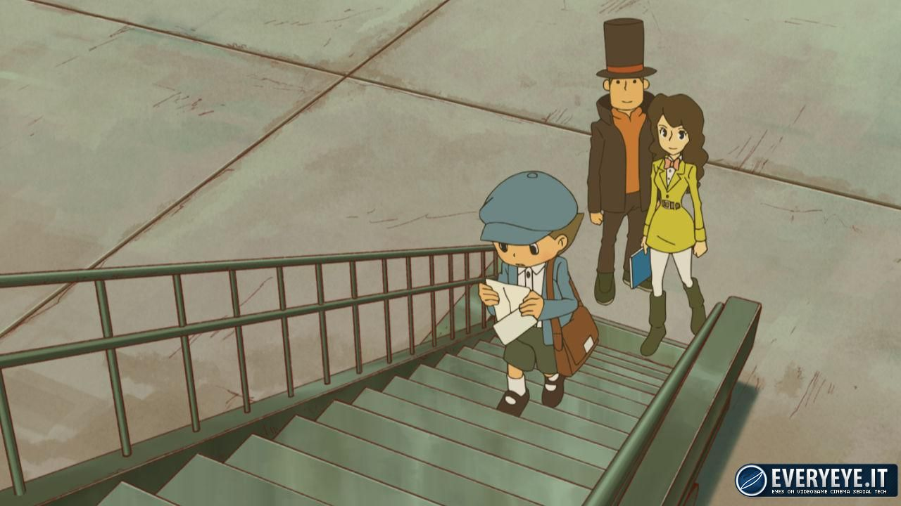 Professor Layton and the Azran Legacies: nuove immagini