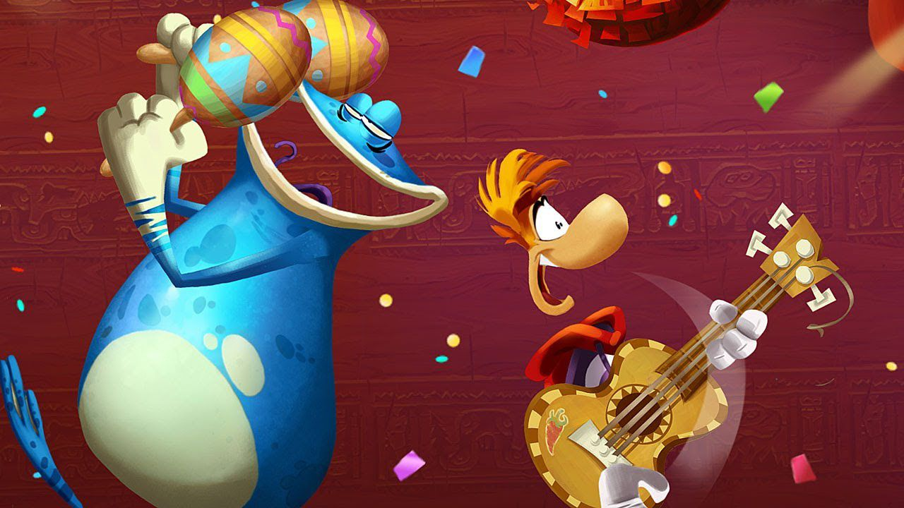Rayman Fiesta Run disponibile dal 7 novembre