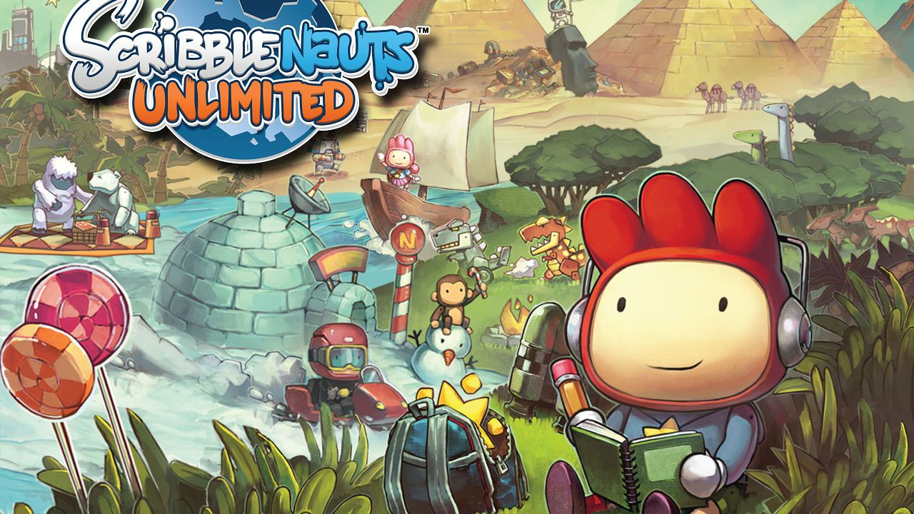 Scribblenauts Unlimited: video off-screen della demo E3 2012 per Nintendo Wii U