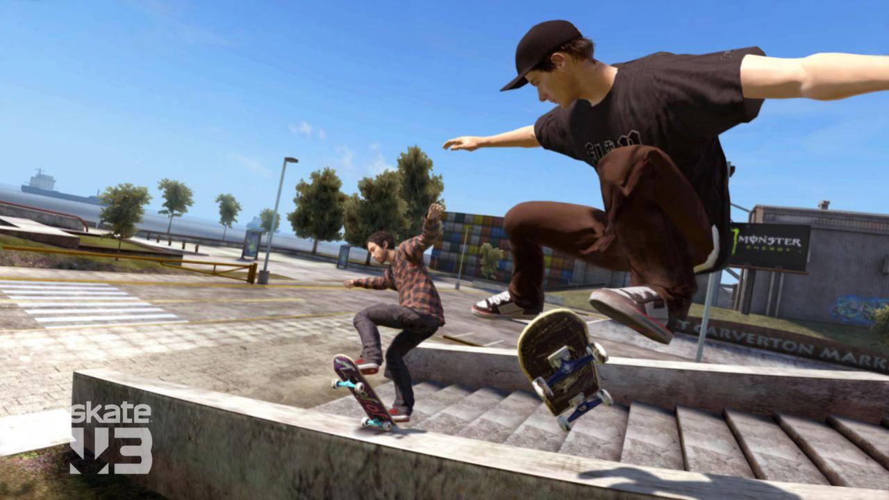 Un'area bonus per il pre-order di Skate 3