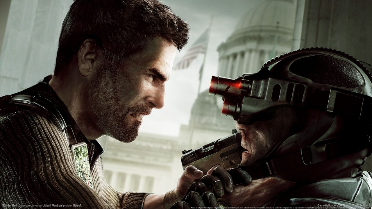 Ubisoft ribadisce l'esclusiva di Splinter Cell: Conviction