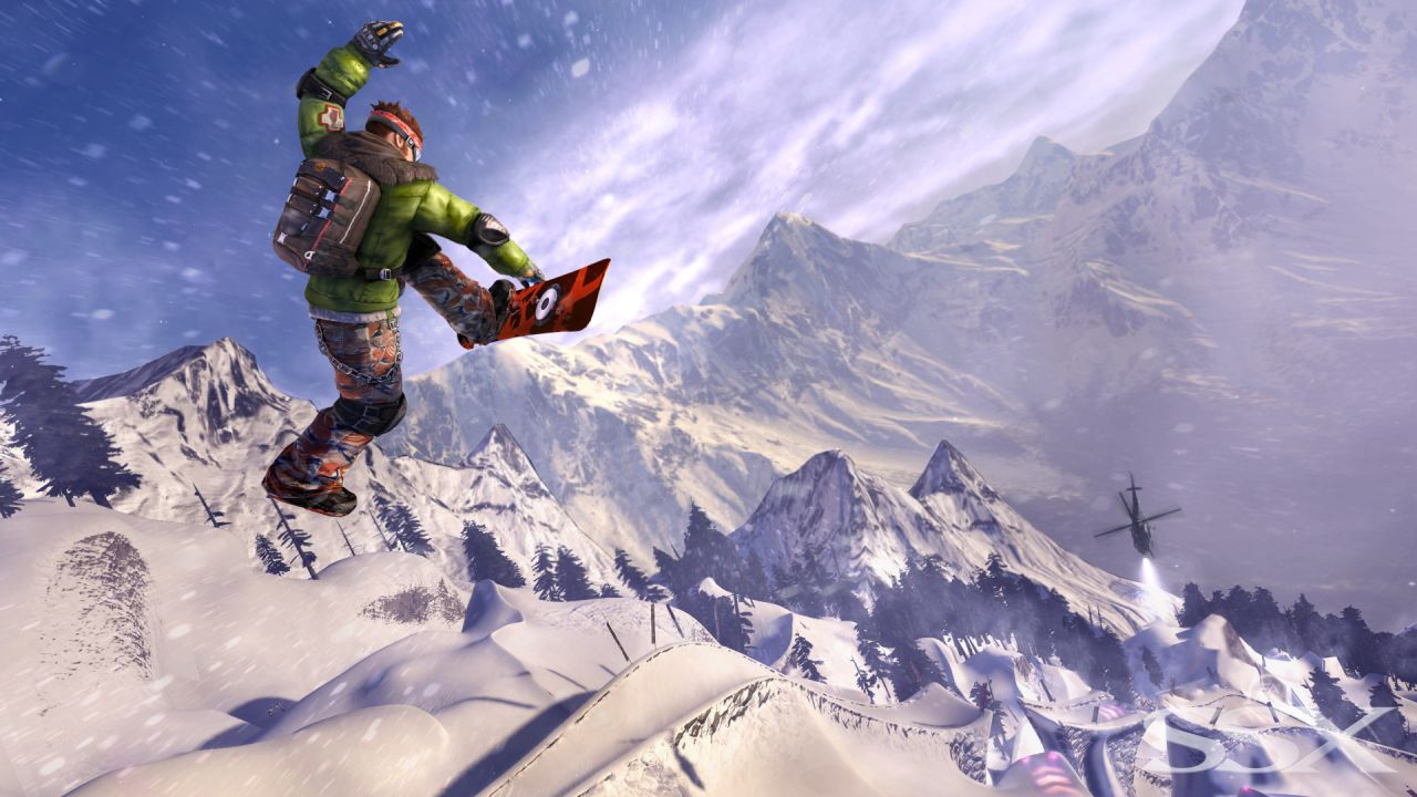 SSX: nuovo video gameplay