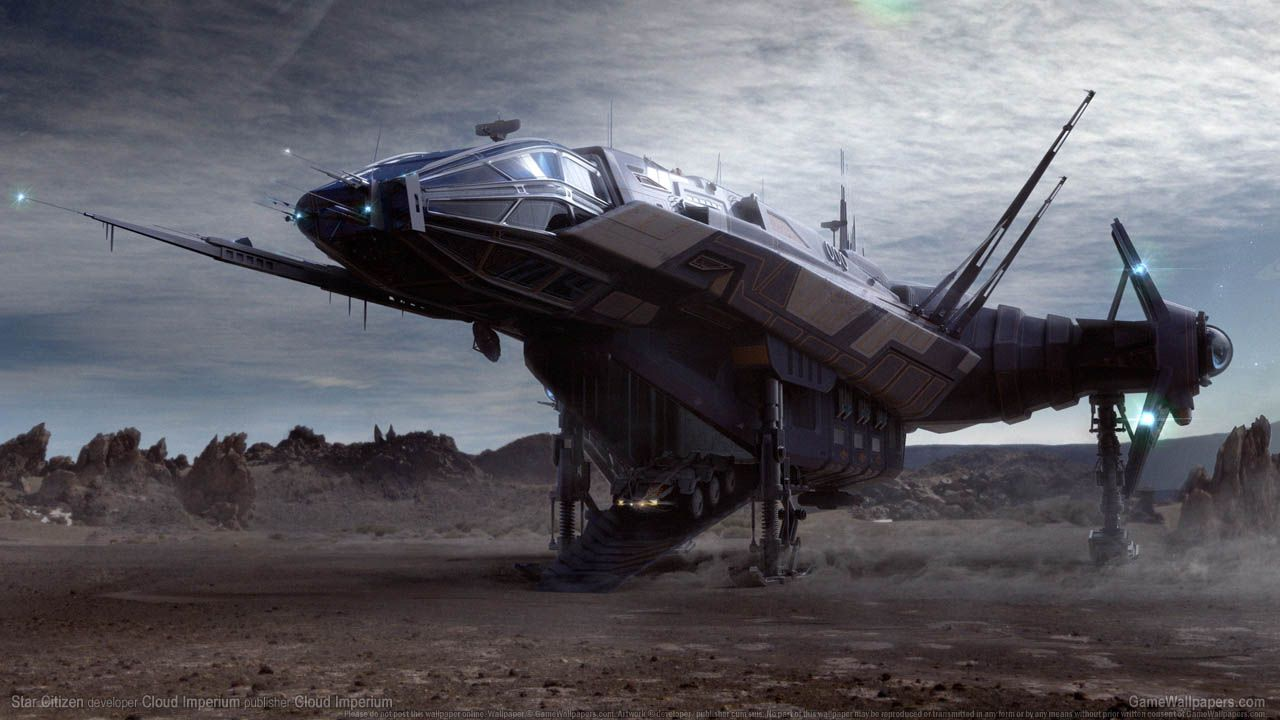 Star Citizen: un video mostra alcune astronavi in volo