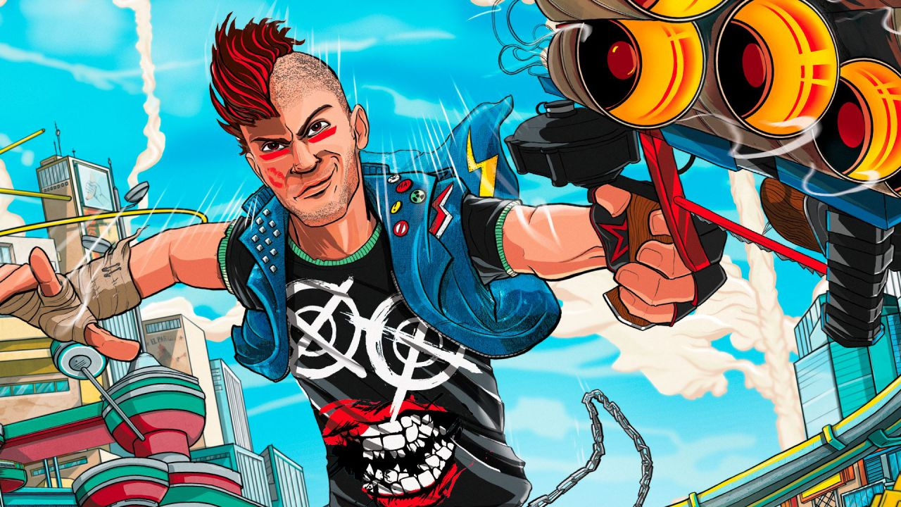 Sunset Overdrive: gameplay prima dell'E3 2014, ci saranno campagna e co-op