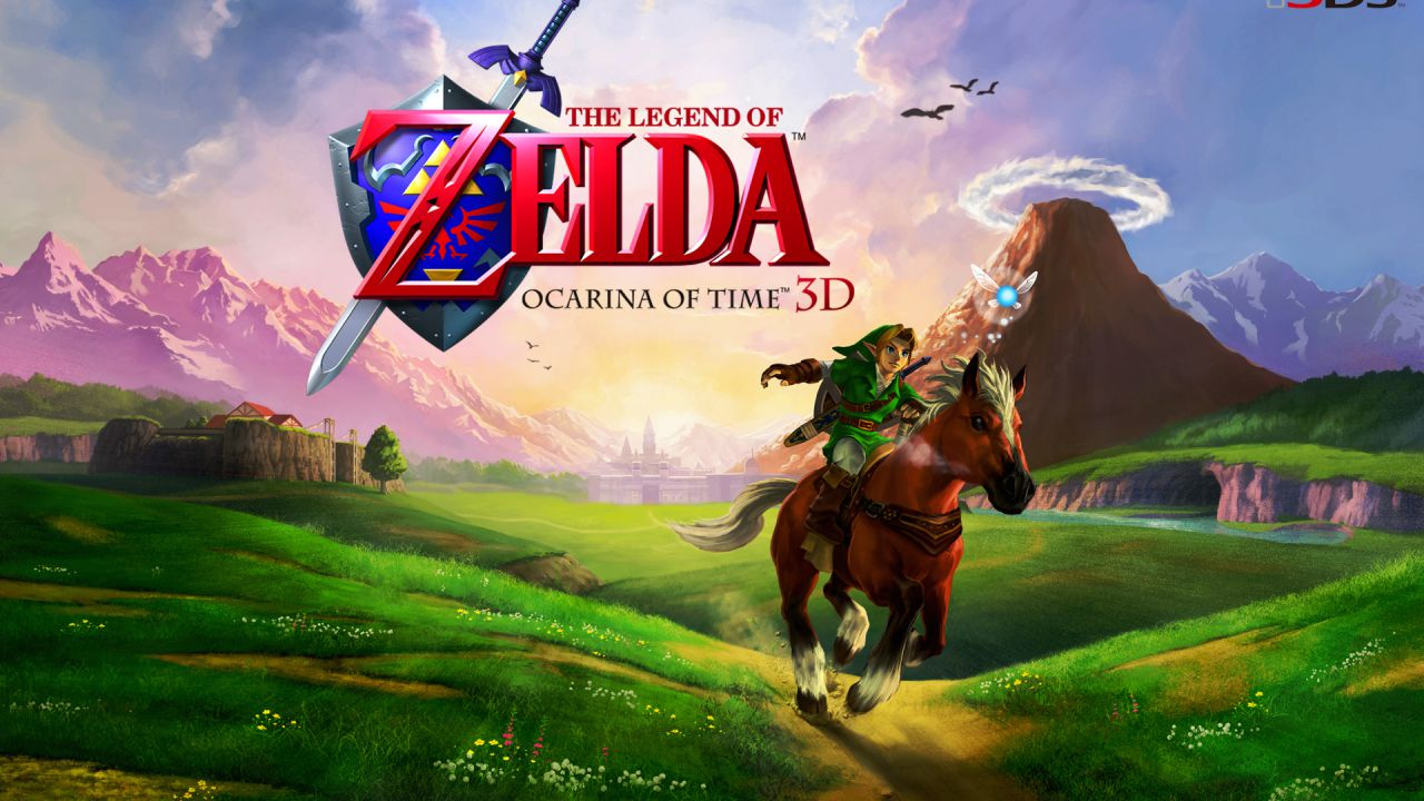 The Legend of Zelda Ocarina of Time 3D: nuovi artwork