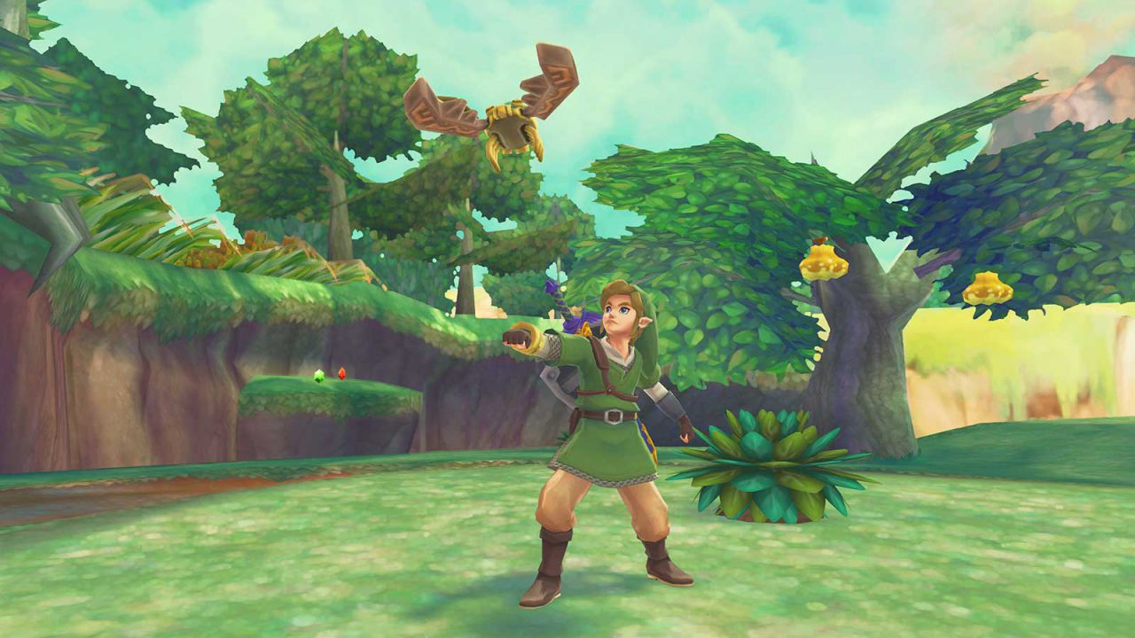 The Legend of Zelda: Skyward Sword, se Link corre troppo, poi si stanca