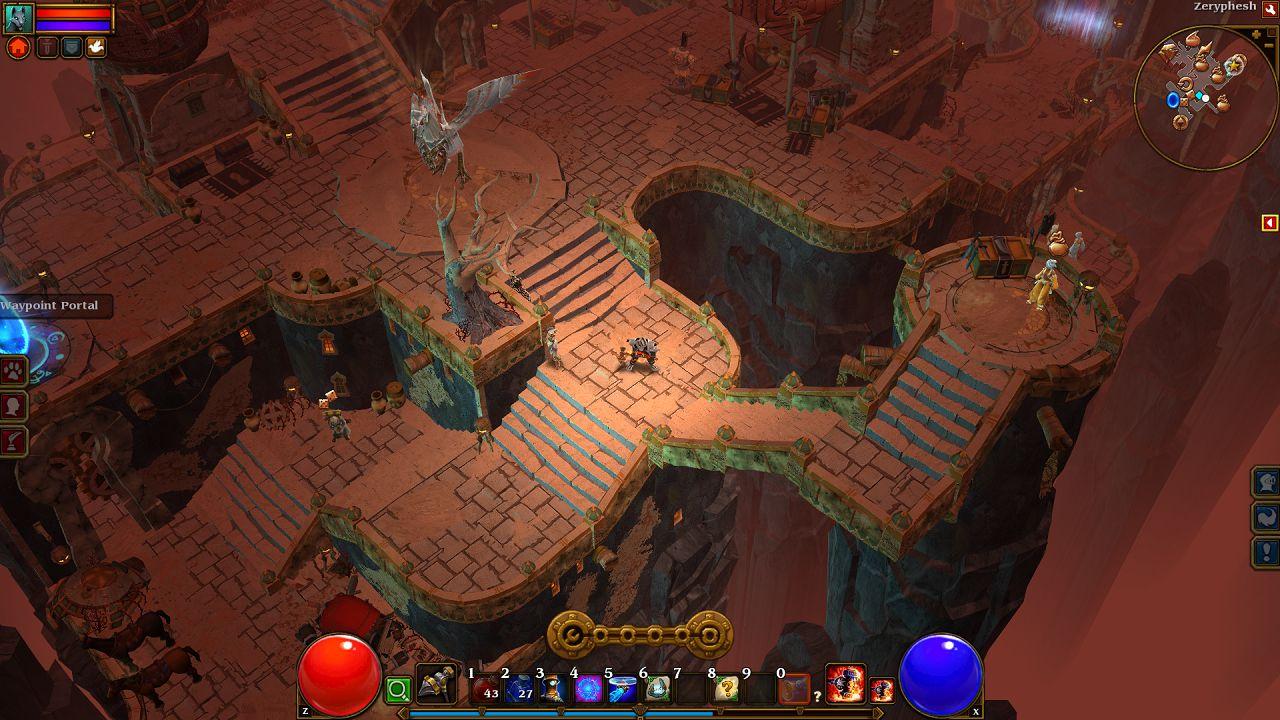 Torchlight II: Runic è attualmente impegnata a bilanciare il gameplay
