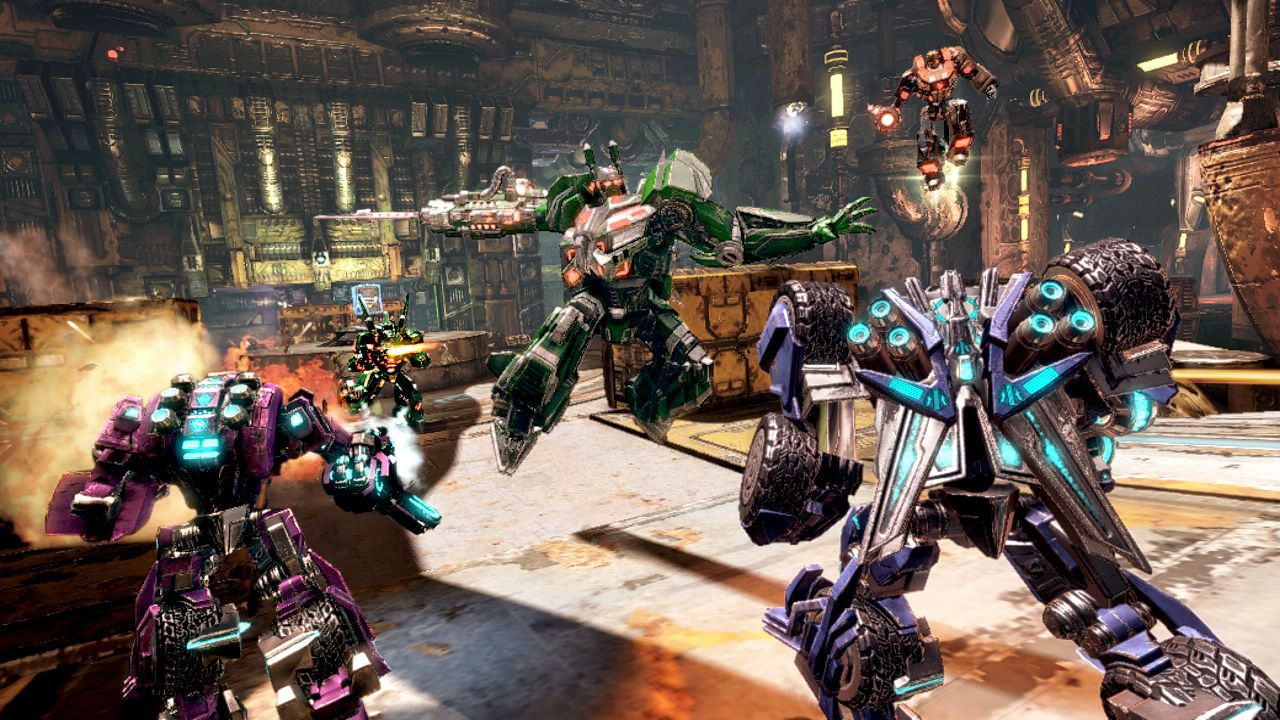 Transformers: Fall of Cybertron: i Dinobots in immagini