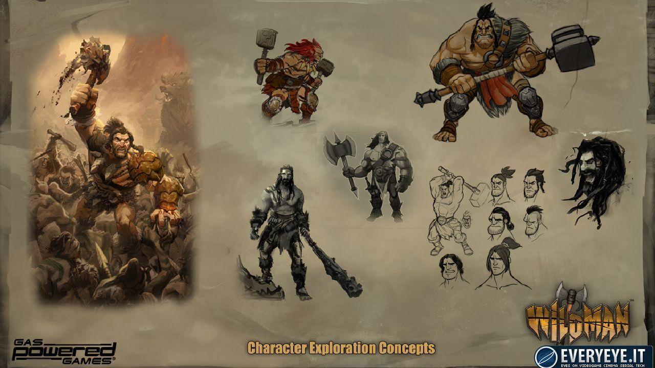 Gas Powered Games annuncia Wildman, action RPG/RTS/MOBA finanziabile tramite Kickstarter