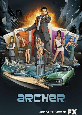 Archer - Stagione 1